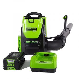 backpack leaf blower electric