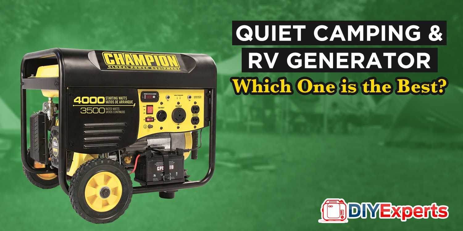 🏞Best RV Generator of 2019: We're Reviewed Many And The