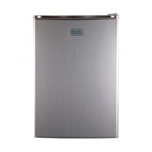 BLACK+DECKER BCRK25V Compact Refrigerator Energy Star Single Door Mini  Fridge With Freezer, 2.5 Cubic Ft., VCM