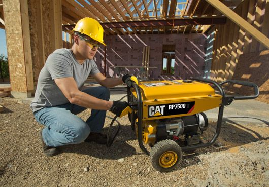 How Much Power Can the 7500 watt CAT RP7500E Generator Give You?