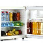 A little mini fridge