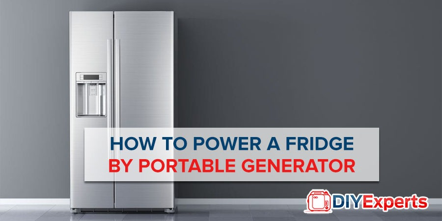 How to Power a Refrigerator or Mini Fridge by Portable Generator