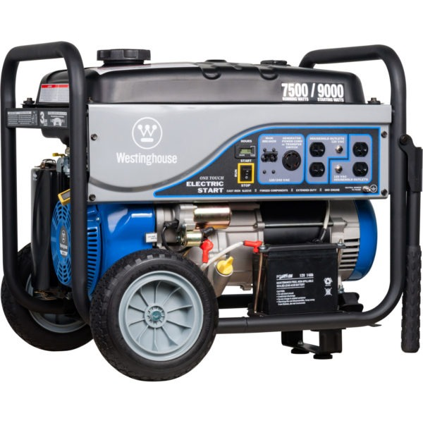 Westinghouse WH7500E Gas Powered Portable Generator Overview